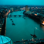 Thames from London Eye
