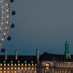 London Eye & County Hall