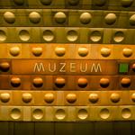 Muzeum metro station | 23/05/2013
