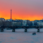 Sunset in Paris | 01/03/2014