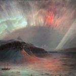 Aurora Borealis by Frederic Edwin Church | 08/09/2014