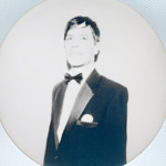 Circular Portraits (Silver) #3