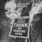 'Don't Even Think of Parking Here' | 26/09/2015