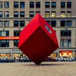 Isamu Noguchi's Red Cube | 08/12/2015
