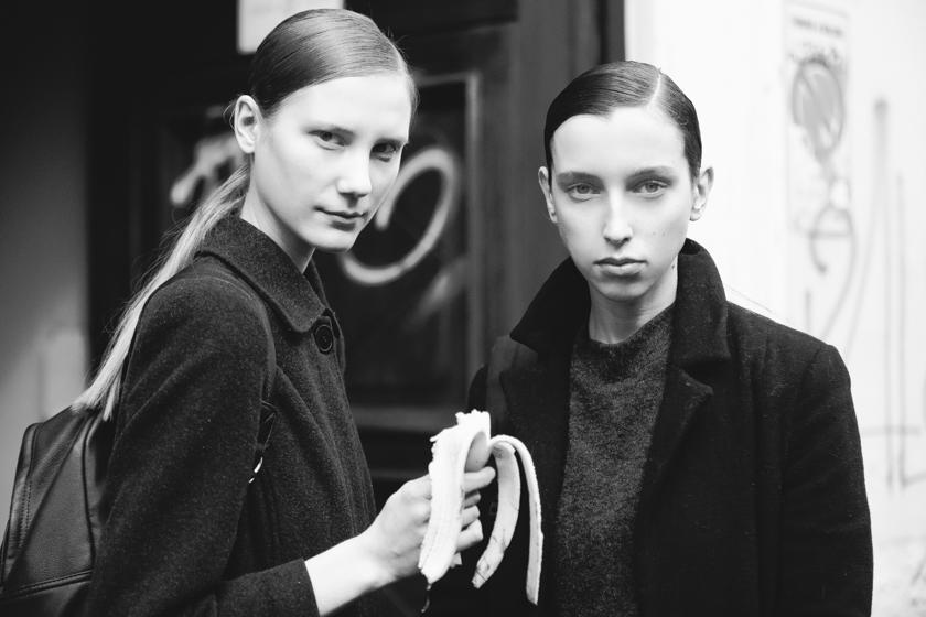 Alena Larionova & Karolina Lyubovitskaya by German Saez