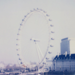 London Eye + Round Frame